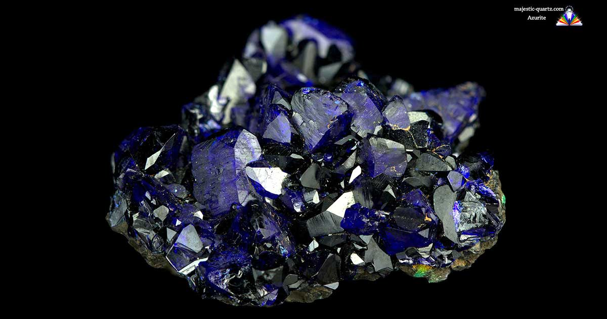 Azurite Properties And Meaning Photos Crystal Information