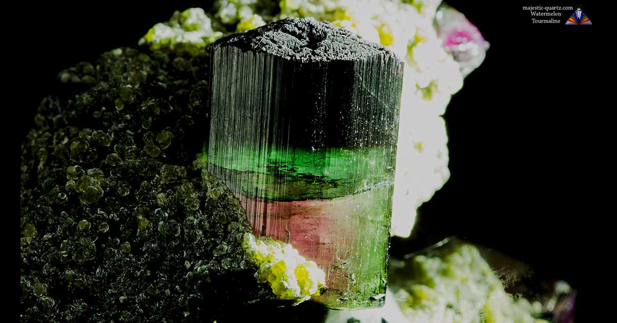 Watermelon Tourmaline Properties And Meaning Photos