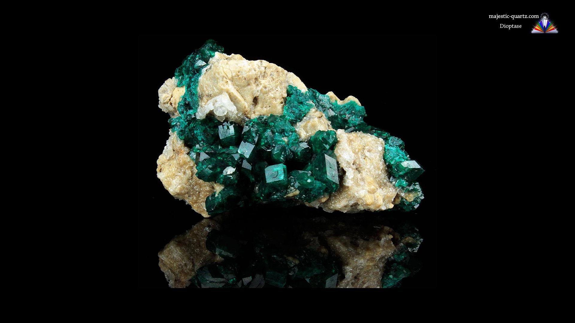 Dioptase Crystal Specimen - Mineral Specimen