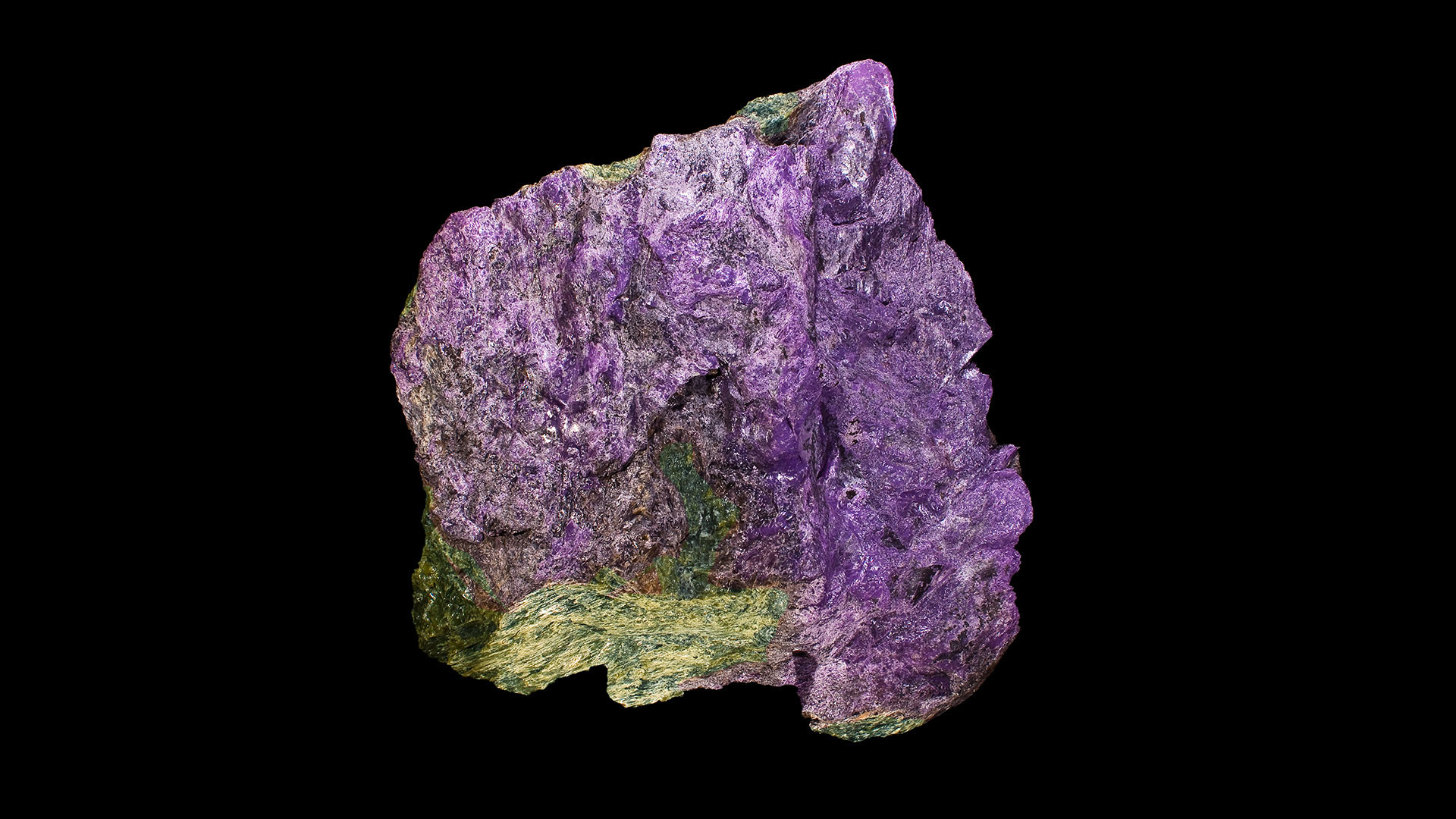 Stichtite Mineral Specimen - Original Photo by Didier Descouens