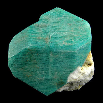 Terminated Amazonite Crystal Properties and Meaning