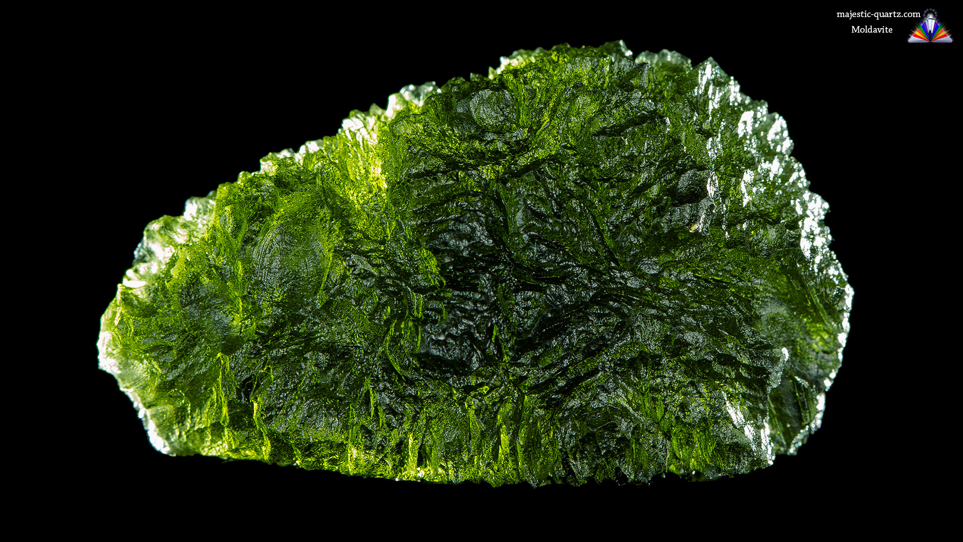 Moldavite Properties and Meaning - Photograph By Anthony Bradford