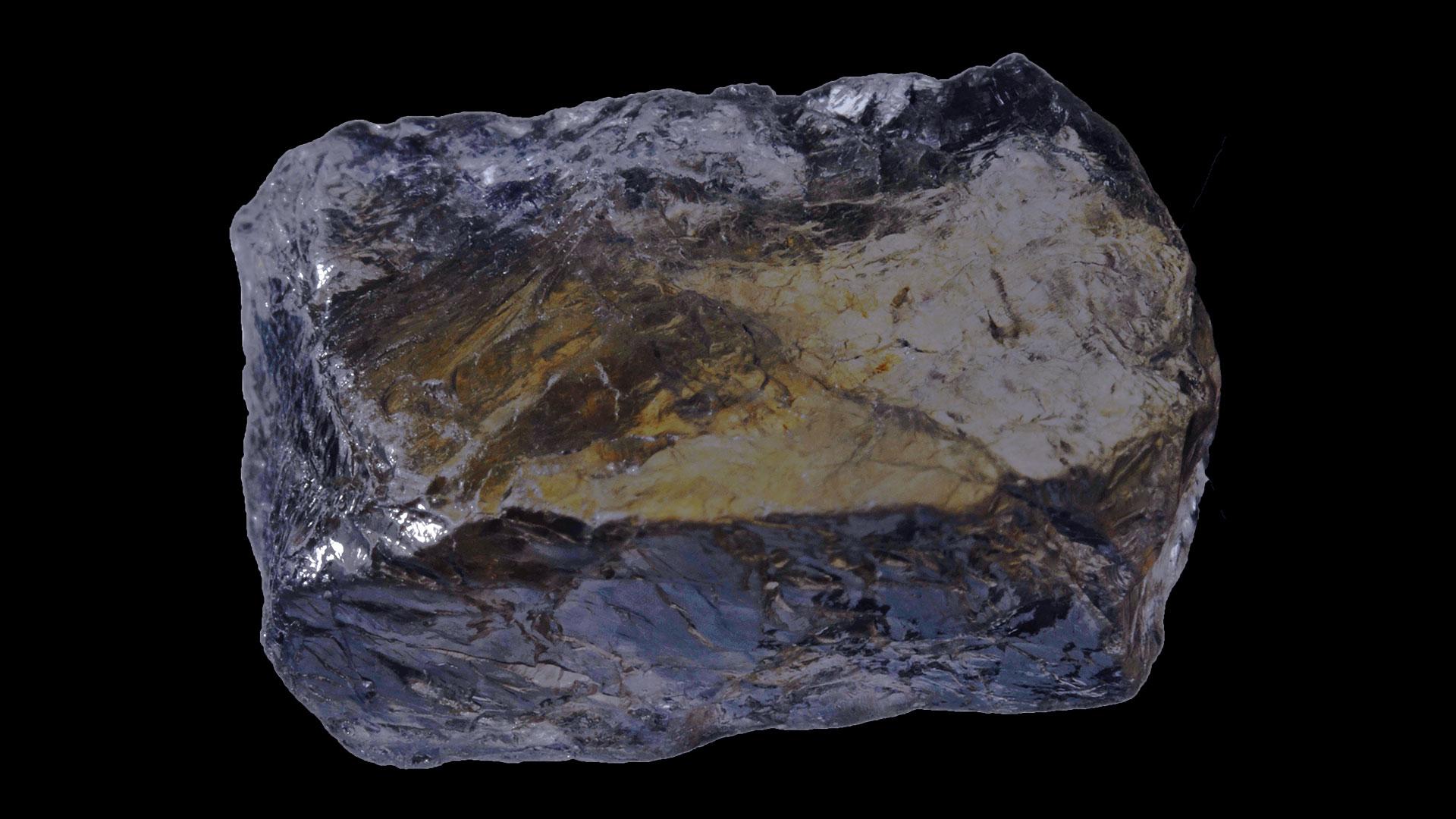 Iolite Crystal Specimen - Mineral Specimen - Original Photograph by Parent-Géry