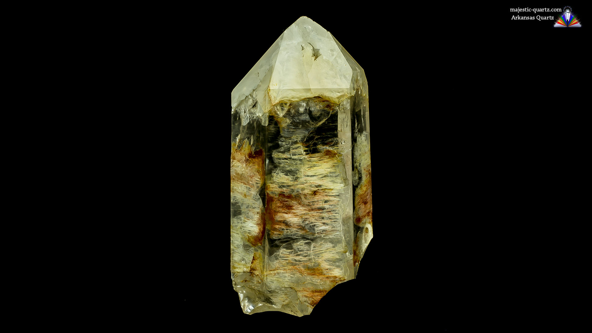 Arkansas Quartz Crystal - Photograph By Anthony Bradford