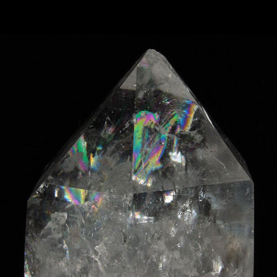 Tibetan Rainbow Quartz Crystal