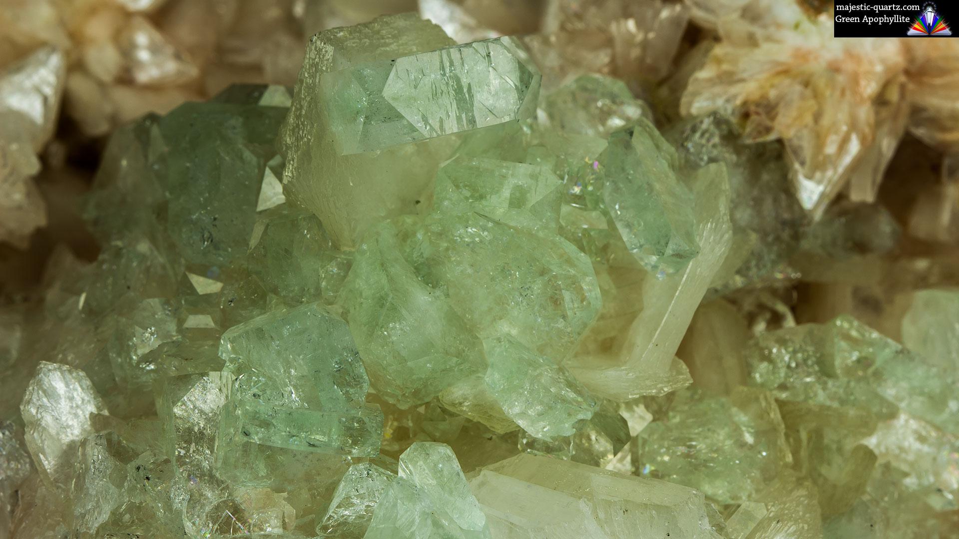 Apophyllite Crystal Specimen - Photograph by Anthony Bradford