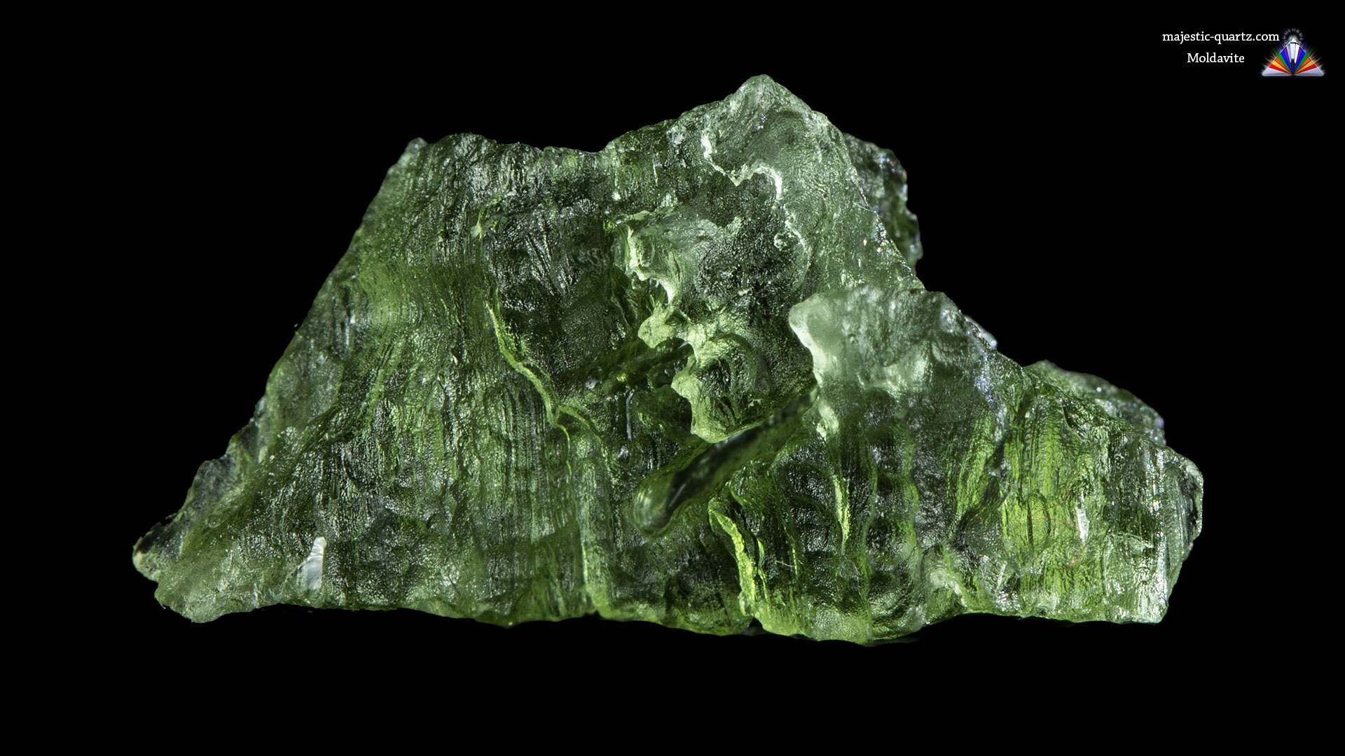 Moldavite Properties and Meaning- Photograph By Anthony Bradford