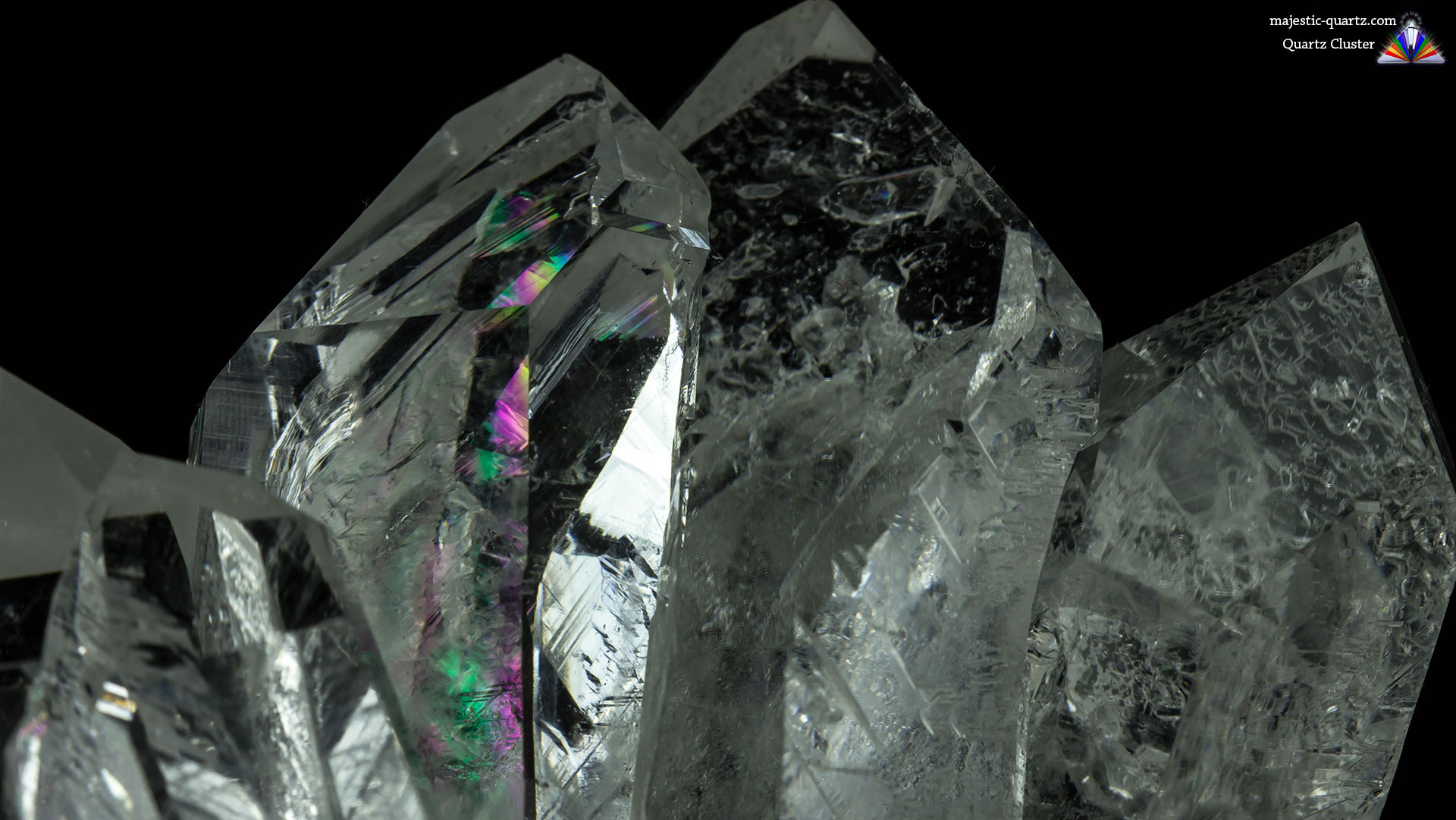 Quartz Cluster Properties and Meaning - Photograph by Anthony Bradford