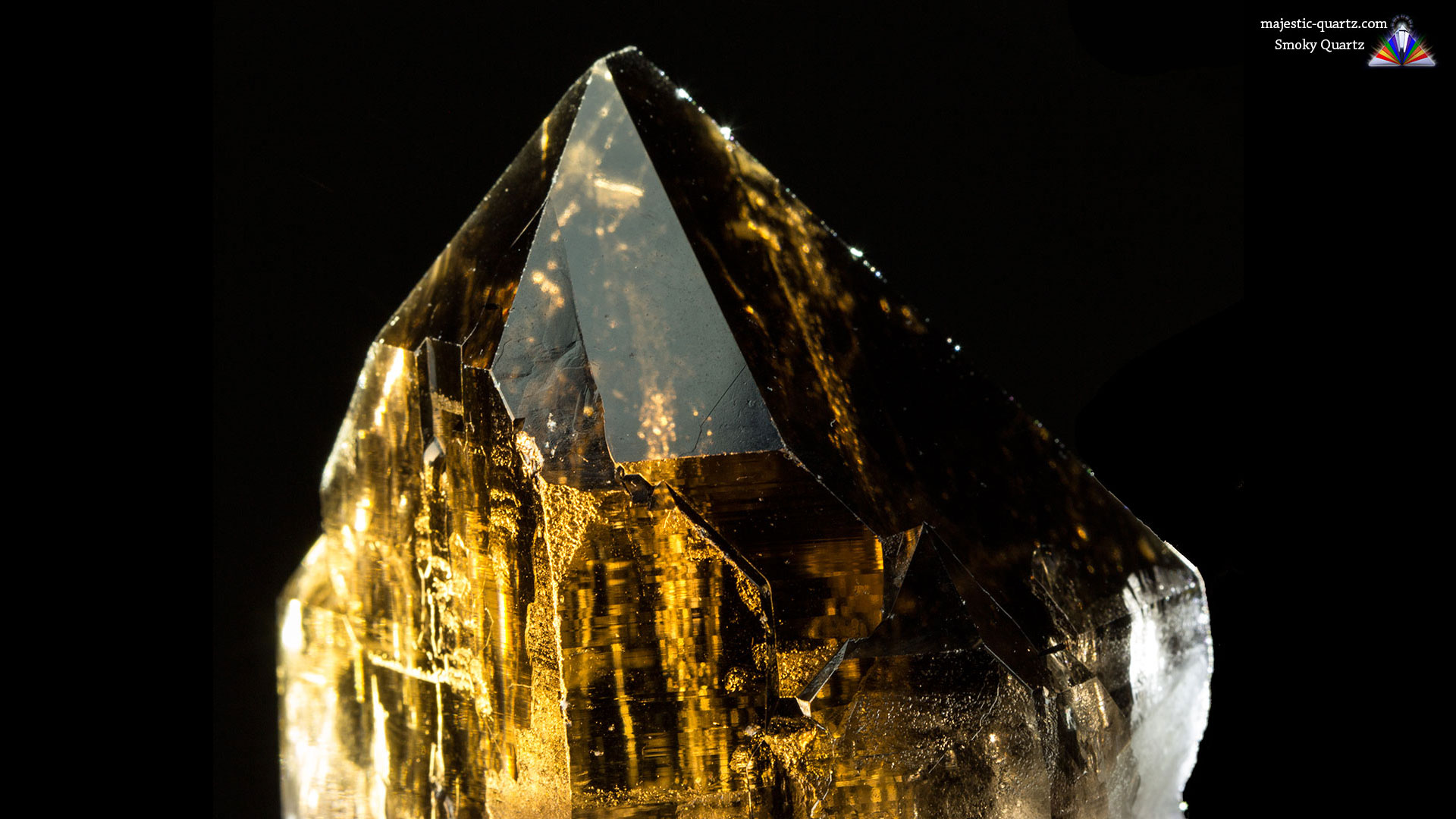 Smoky Quartz Properties and Meaning - Photograph by Anthony Bradford