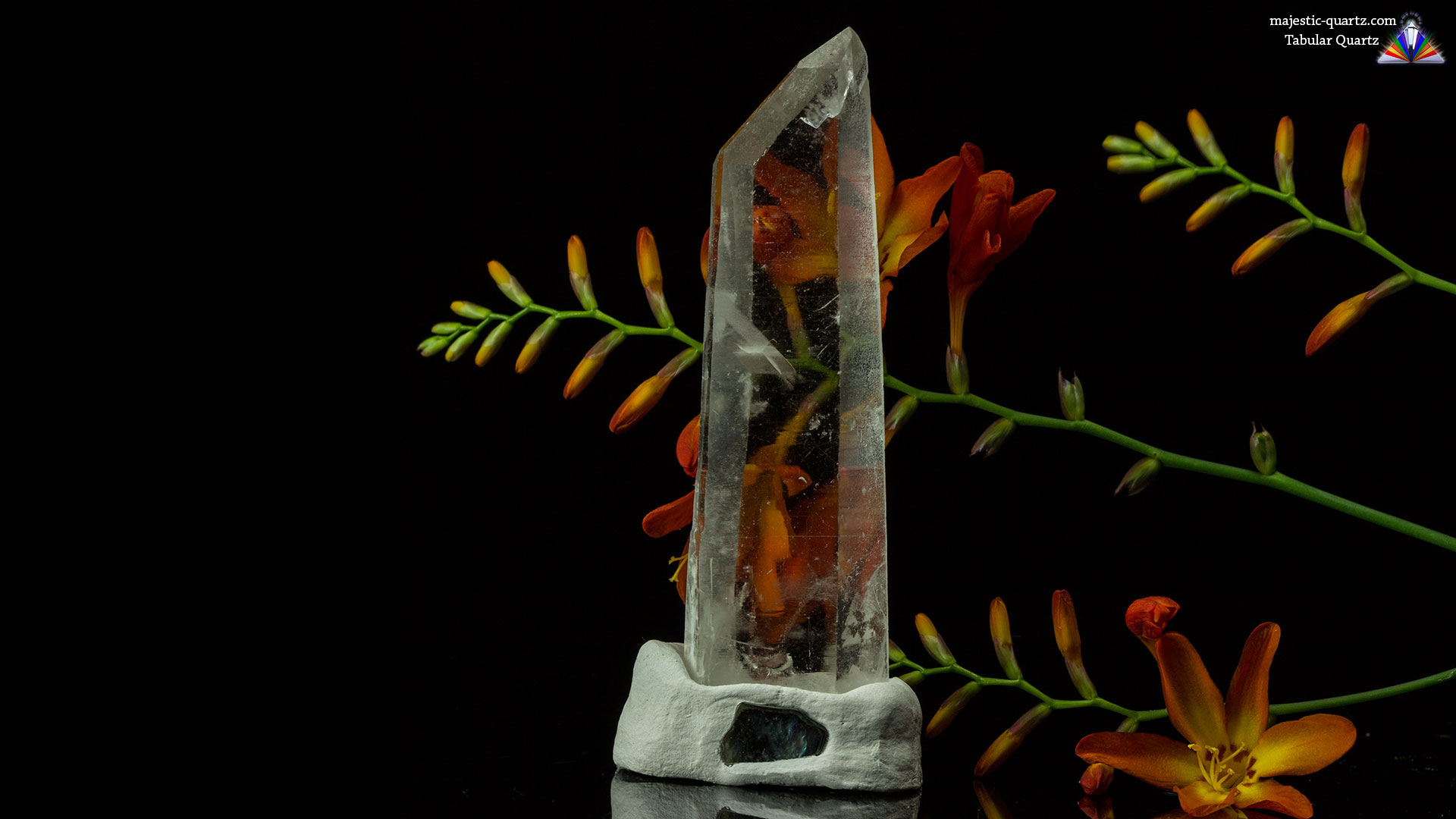 Tabular Quartz Properties and Meaning - Photograph by Anthony Bradford