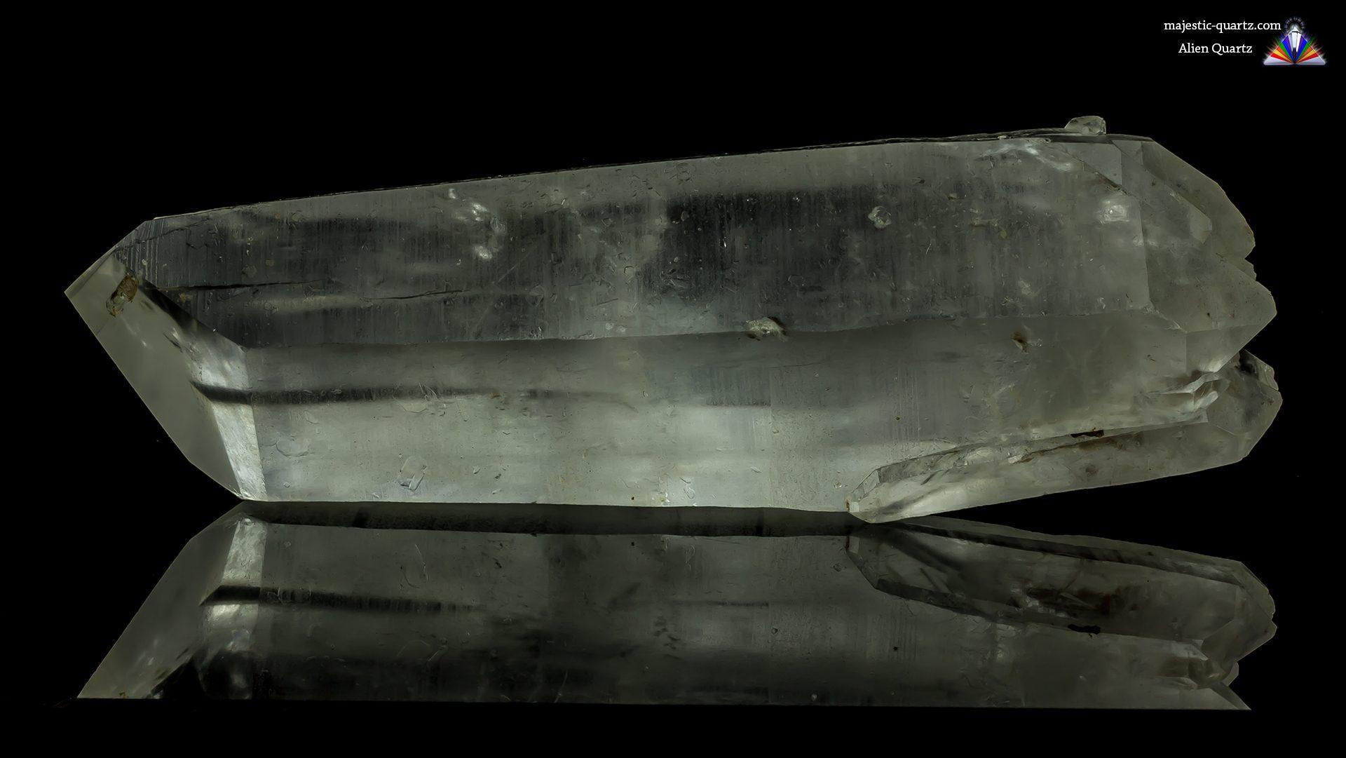 Smoky Alien Quartz Crystal Specimen - Photograph by Anthony Bradford