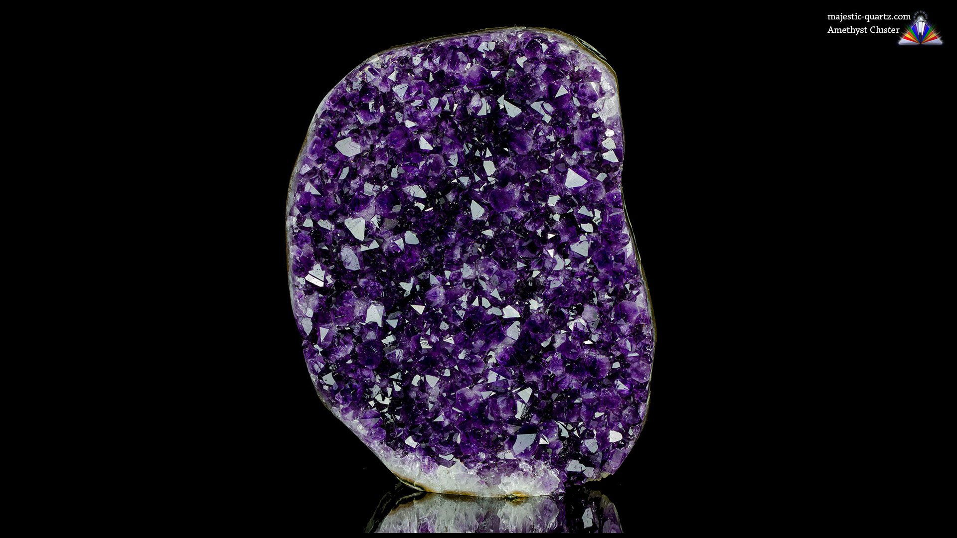 Uruguayan Amethyst Cluster Specimen - Photograph by Anthony Bradford