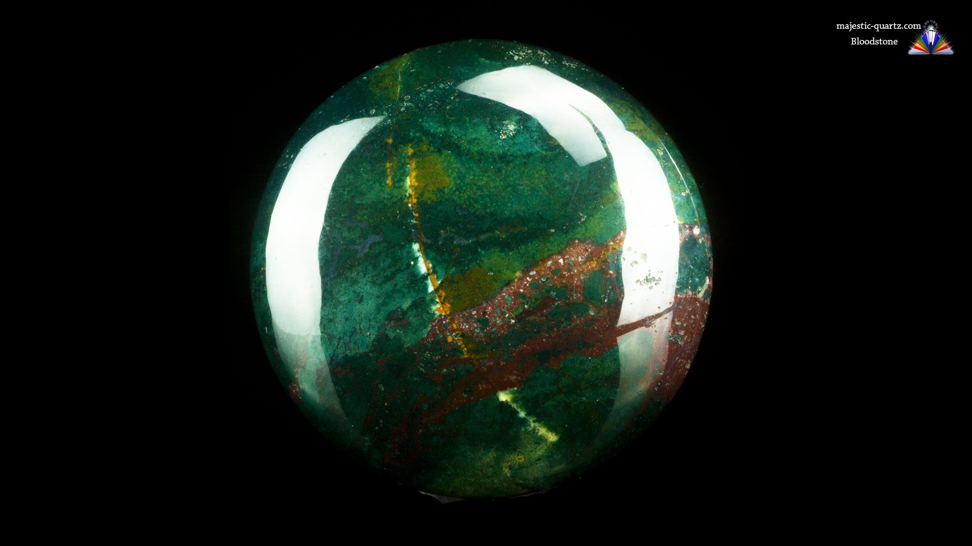 Bloodstone Crystal Specimen
