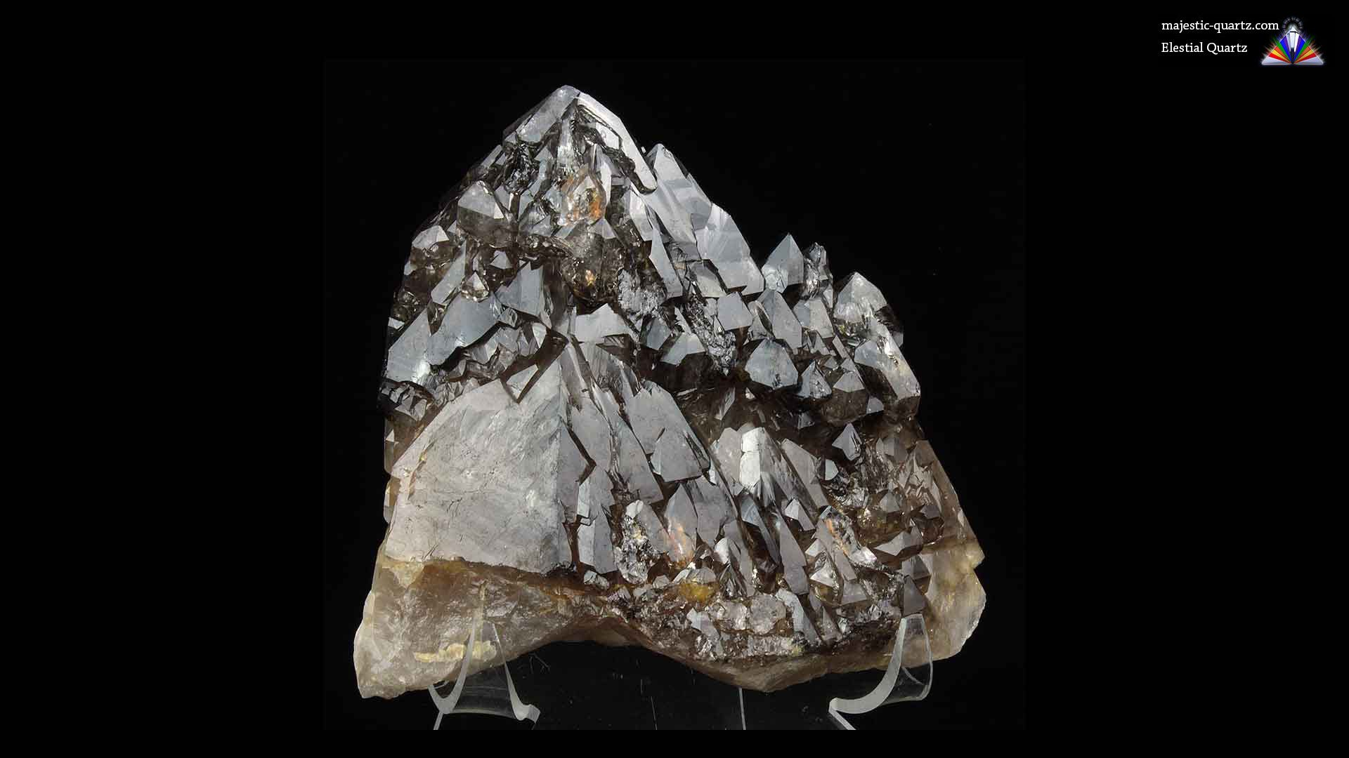 Elestial Quartz Crystal - Photograph by Anthony Bradford