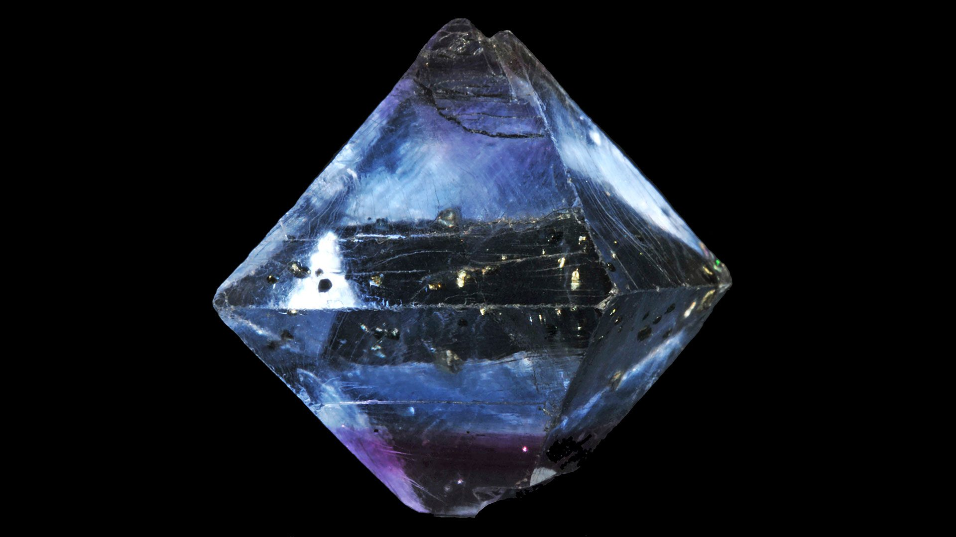 Fluorite Octahedron Crystal Specimen - Photograph by Parent Géry
