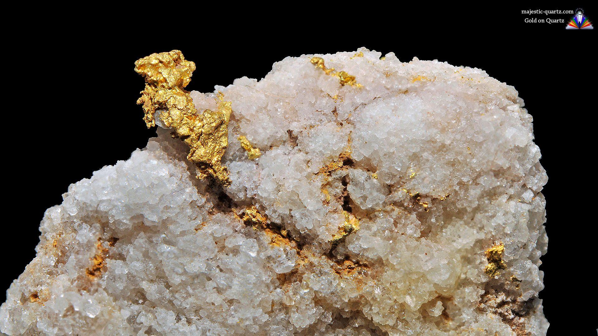 Gold Crystal Specimen - Mineral Specimen (Original Photograph by Parent Géry)