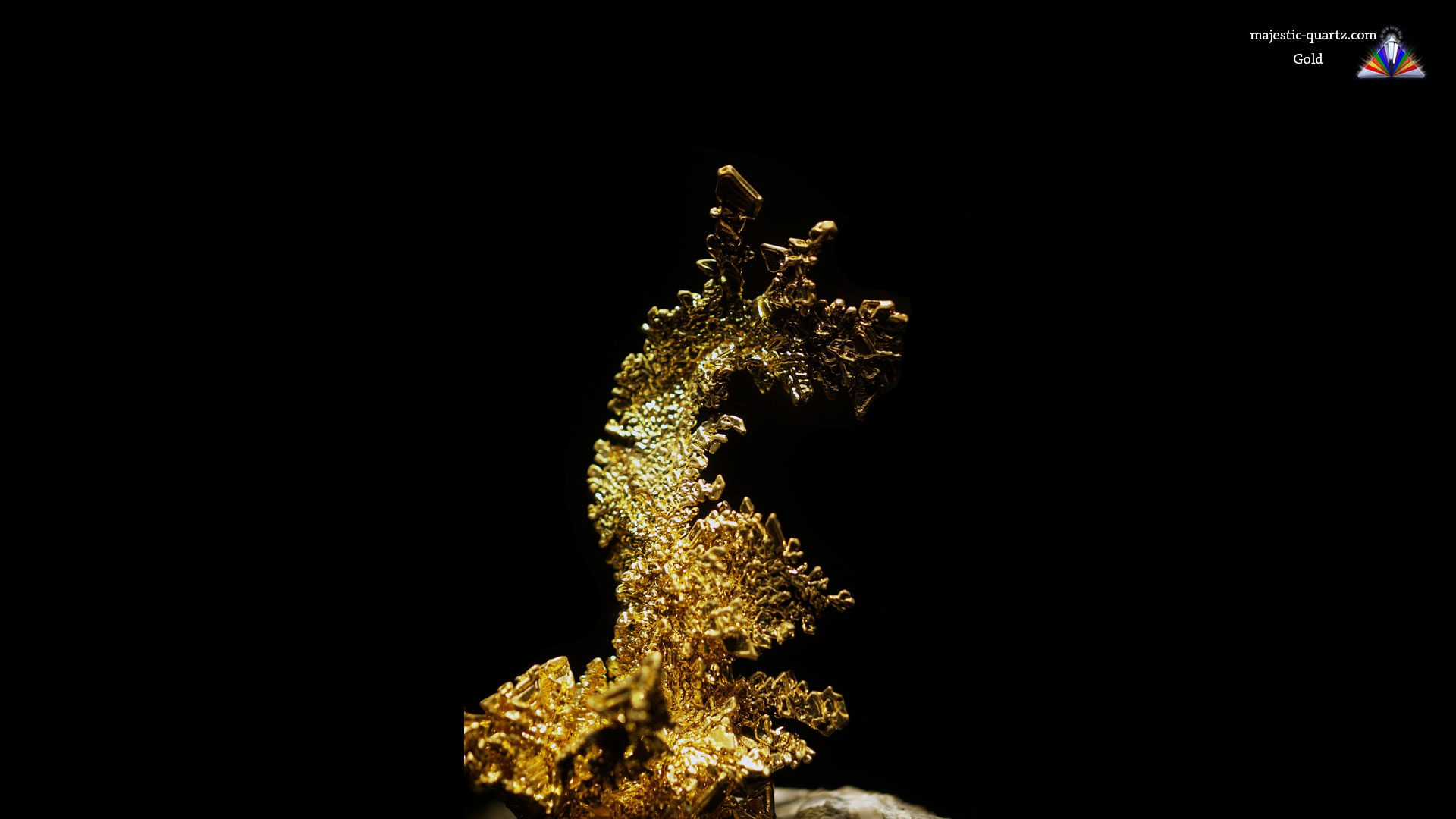 Gold Crystal Specimen - Mineral Specimen