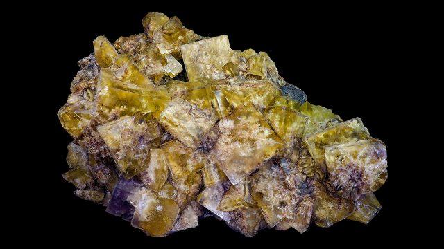 Fluorite Crystal Specimen - Photograph by Didier Descouens