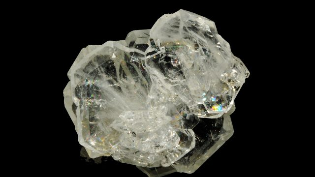 White/Clear Beryl Terminated Crystal Specimen - (Goshenite) Original Photograph by Parent Géry