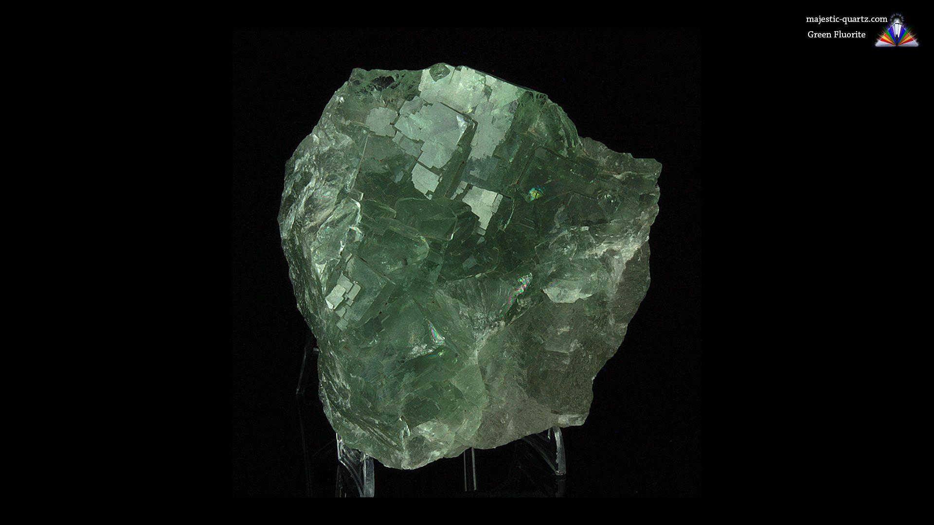 Green Fluorite Cluster Crystal/Mineral Specimen