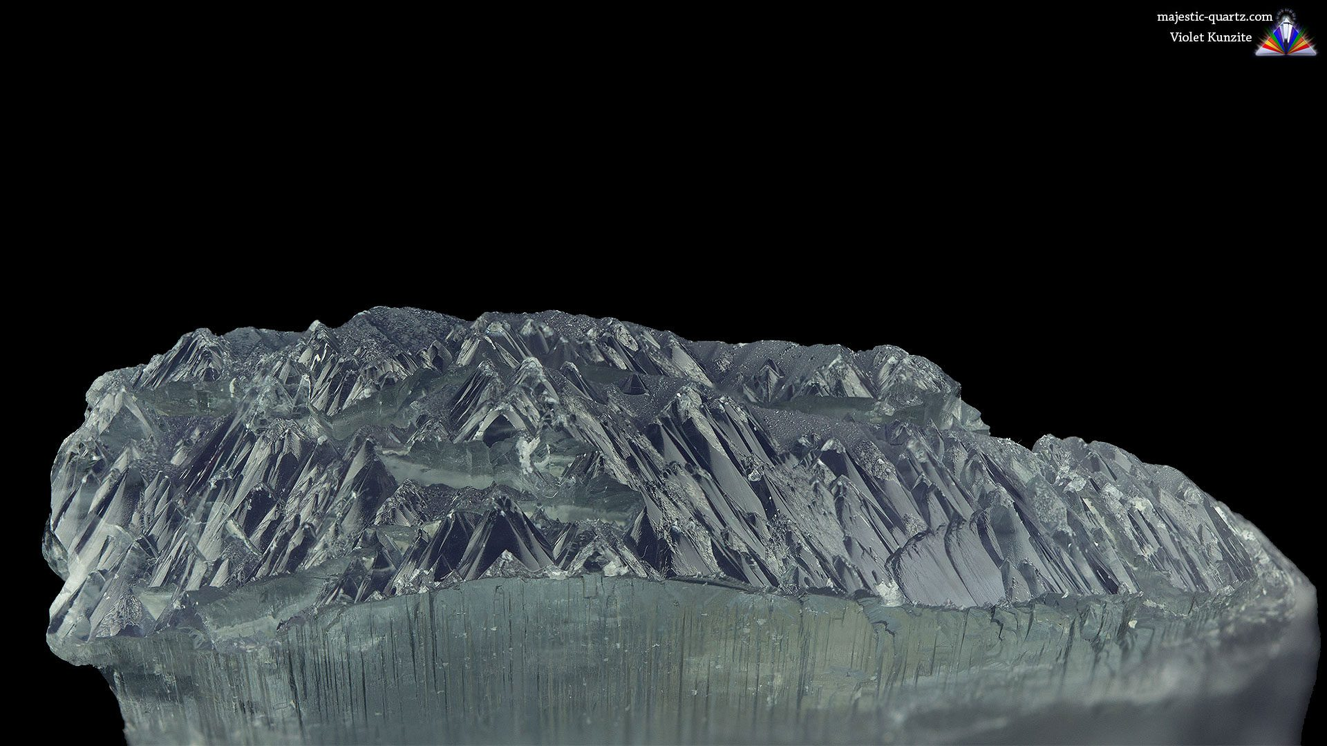Terminated Violet Kunzite Mineral Specimen - Photograph by Anthony Bradford