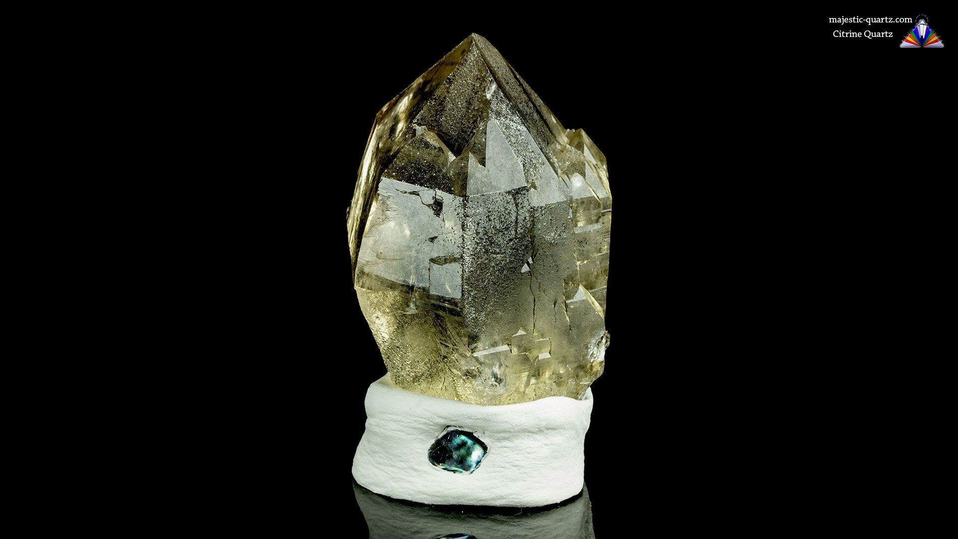 Citrine Quartz Properties and Meaning- Photograph by Anthony Bradford