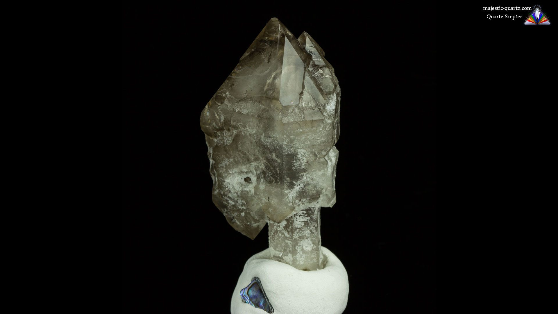 Scepter Quartz Properties and Meaning - Photograph by Anthony Bradford
