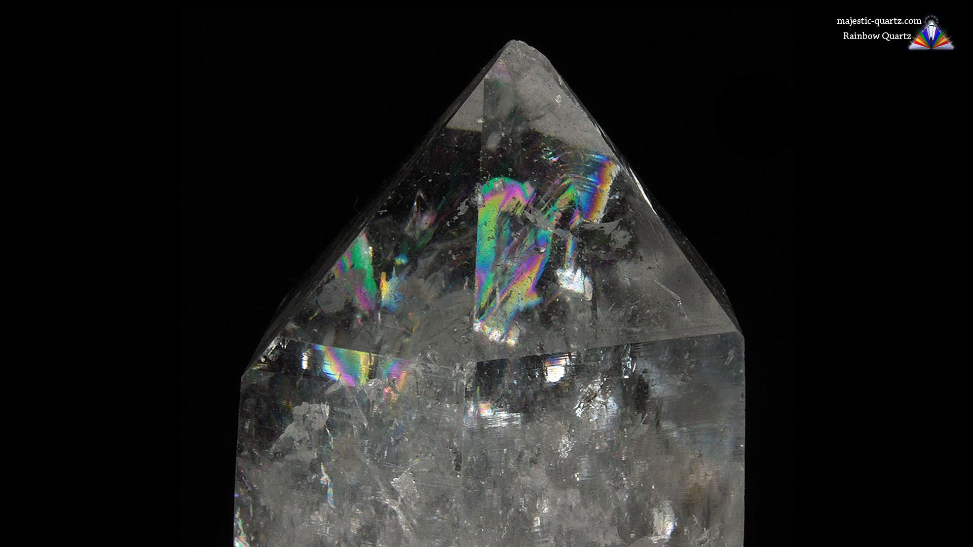Rainbow Quartz Properties and Meaning - Photograph by Anthony Bradford