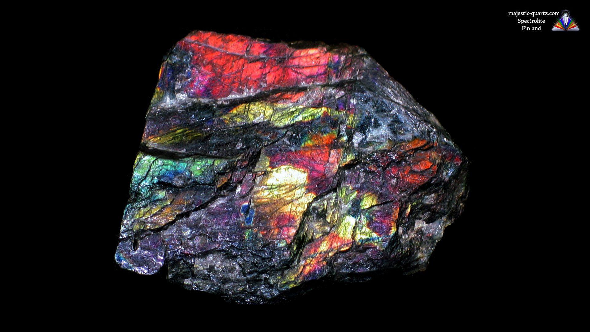 Spectrolite Crystal Specimen - Mineral Specimen