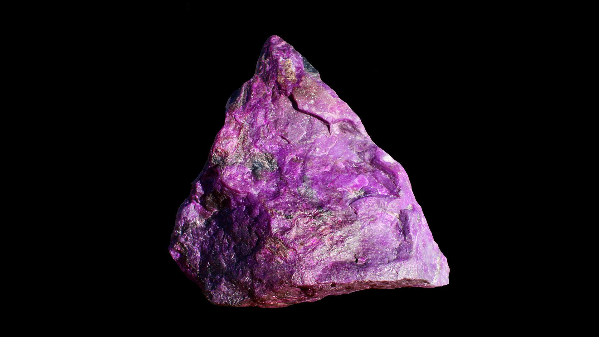 Sugilite Crystal Specimen - Mineral Specimen - Original Photo by TIS0421