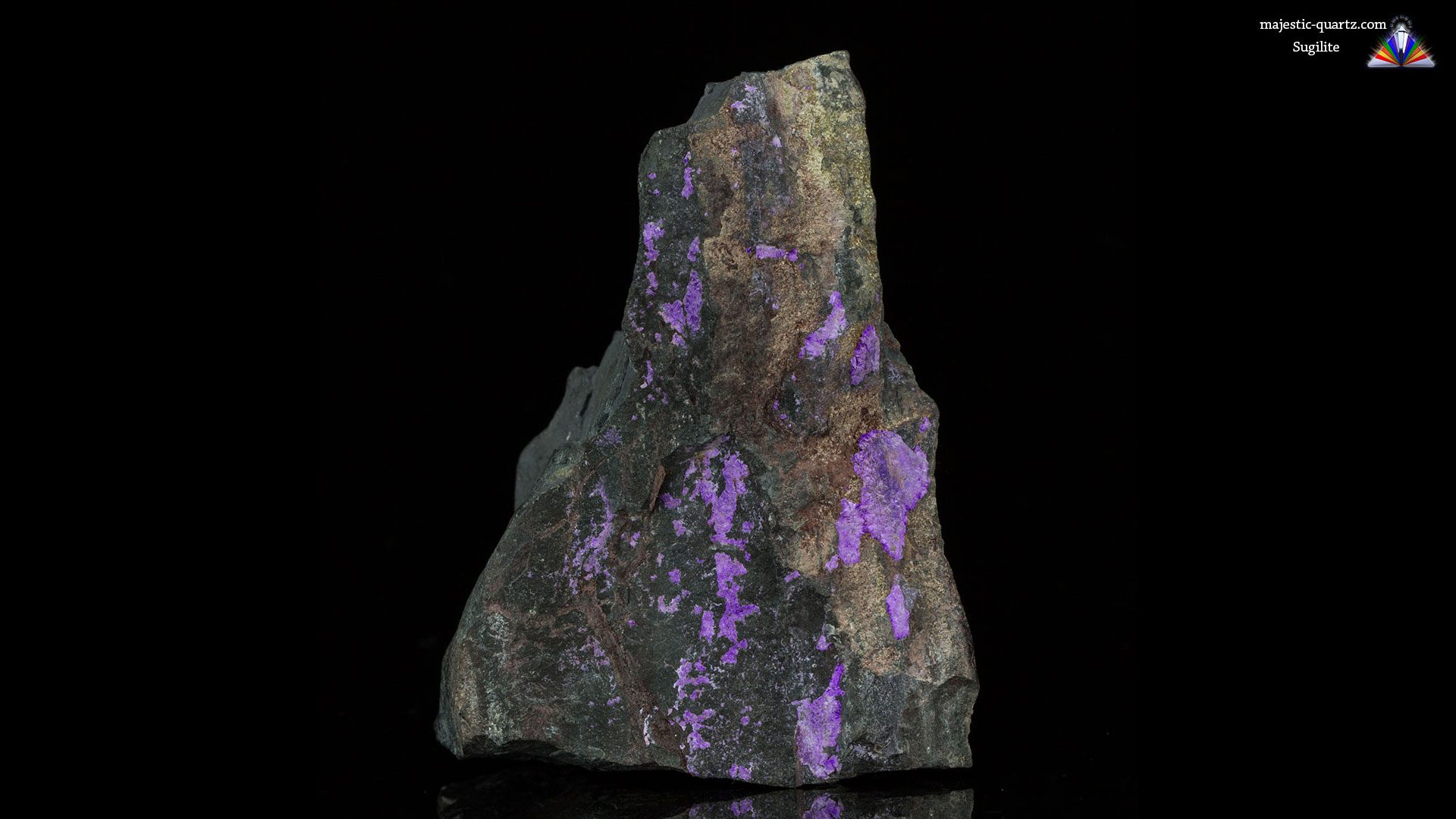 Sugilite properties and meaning photos crystal information - Sugilite Mineral Specimen Photograph By Anthony Bradford