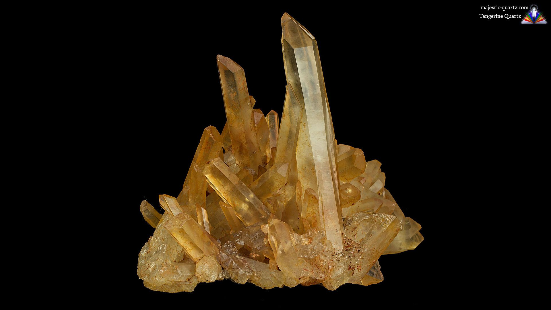 Tangerine Quartz Properties and Meaning - Photograph by Anthony Bradford