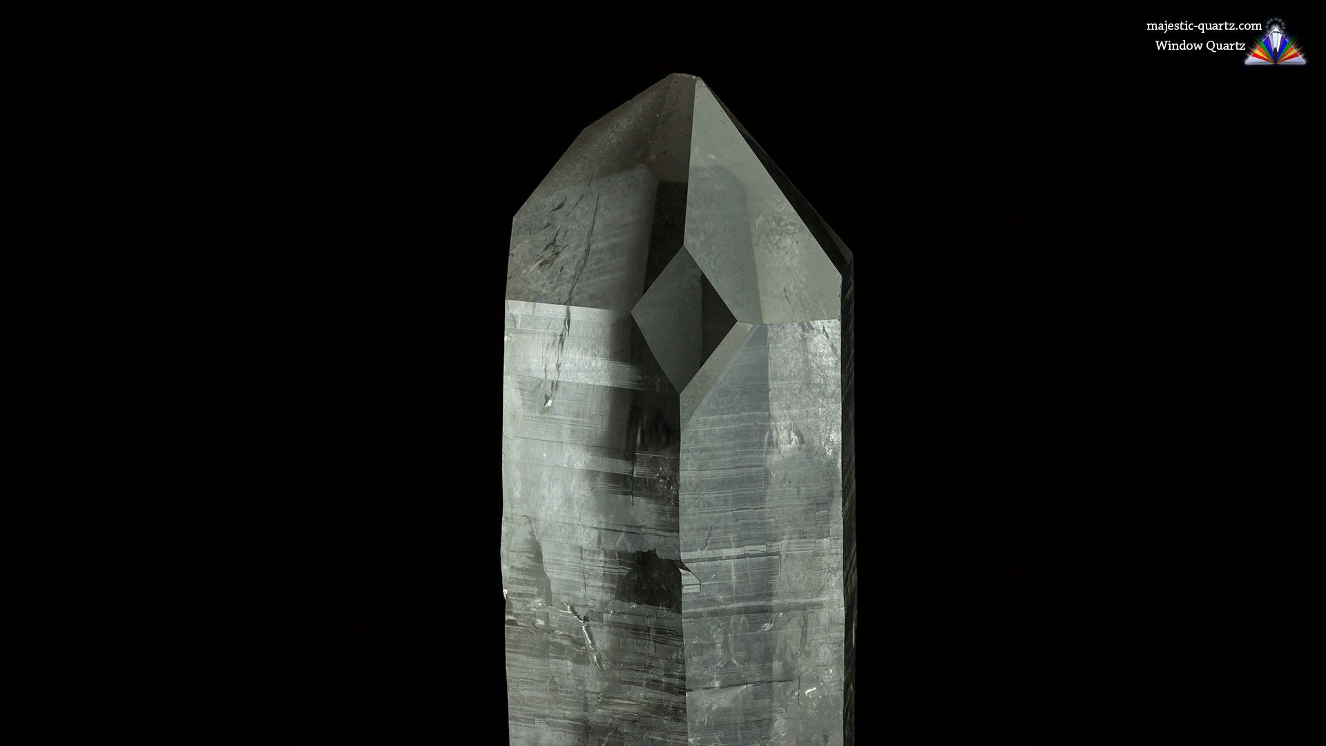 Window Quartz Properties and Meaning - Photograph by Anthony Bradford