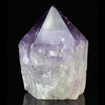 Amethyst Crystal Point Properties and Meaning