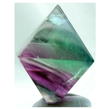 Rainbow Fluorite Octahedron