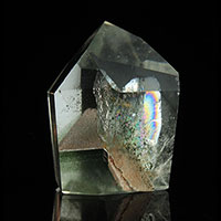 Swiss Chlorite Included Phantom Quartz