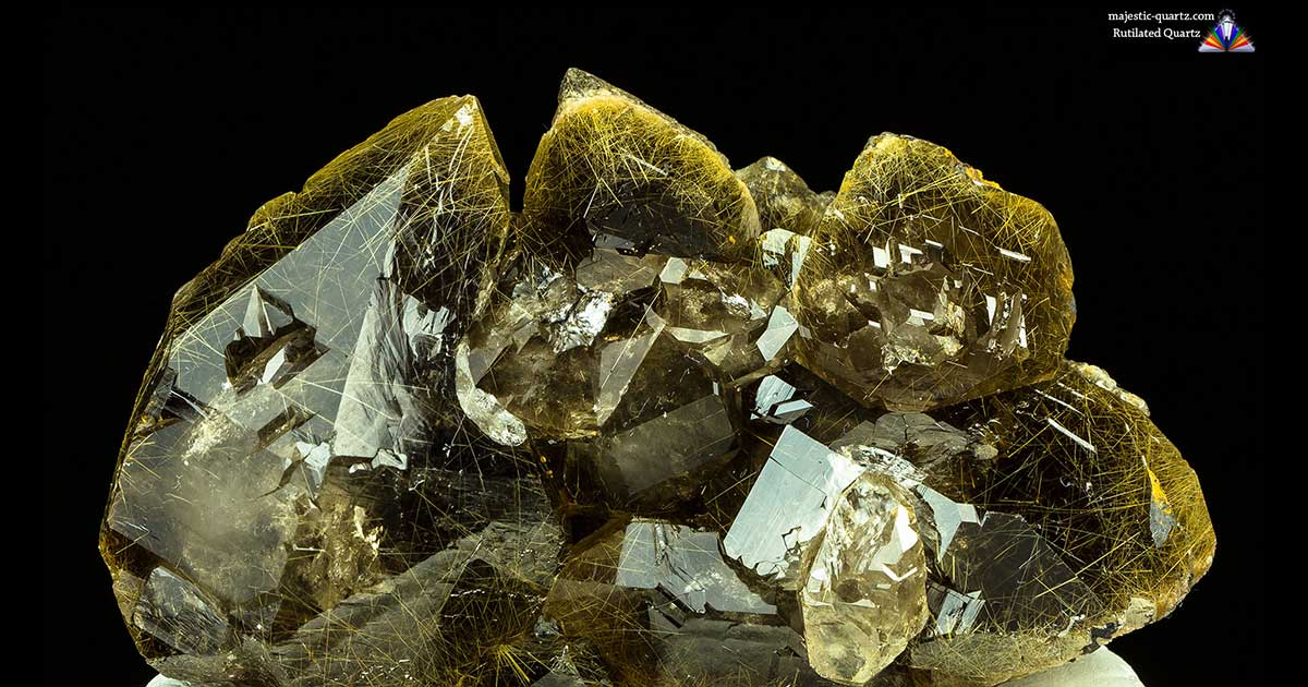Rutilated Quartz Properties And Meaning Photos Crystal