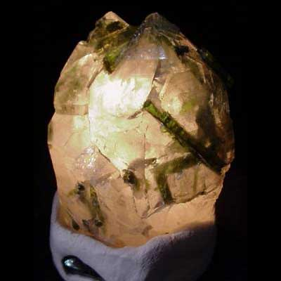 Tourmalated Quartz Properties and Meaning Example Photo 3