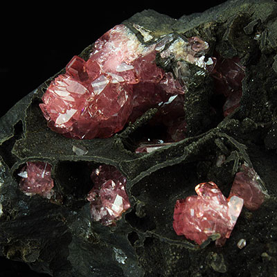 Rhodochrosite Crystal Specimens