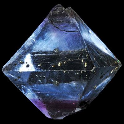 Blue Fluorite Octahedron