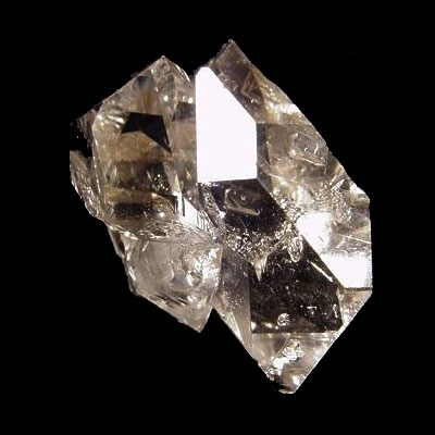 Herkimer Diamond Quartz Crystal Twin