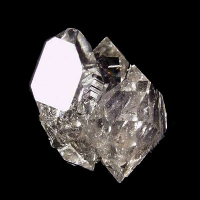 Herkimer Diamond Quartz Twin Crystal
