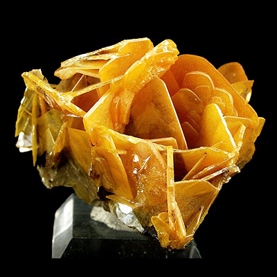 Wulfenite Properties and Meaning Example Photo 4