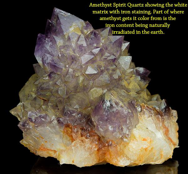Natural Spirit Quartz Amethyst Crystal