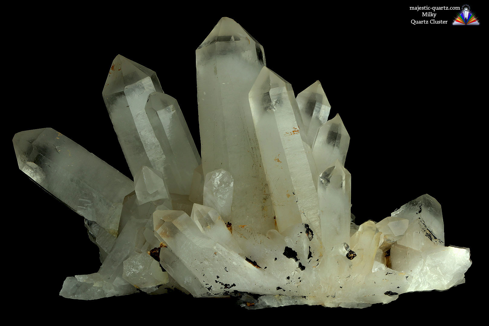 quartz cluster properties and meaning photos crystal