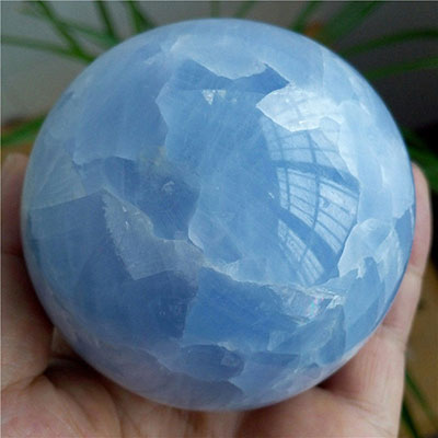 Calcite being solf as being Celestite