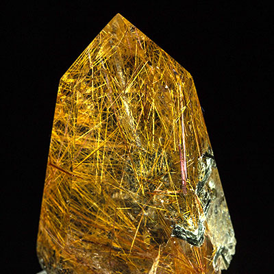 Rutilated Quartz Properties and Meaning Example Photo 14