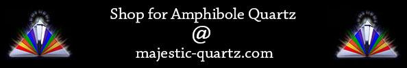 Amphibole Quartz for sale at Majestic Quartz!