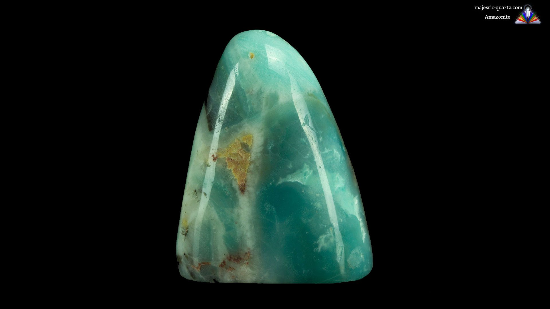 Amazonite Polished Free Form - Photograph by Anthony Bradford