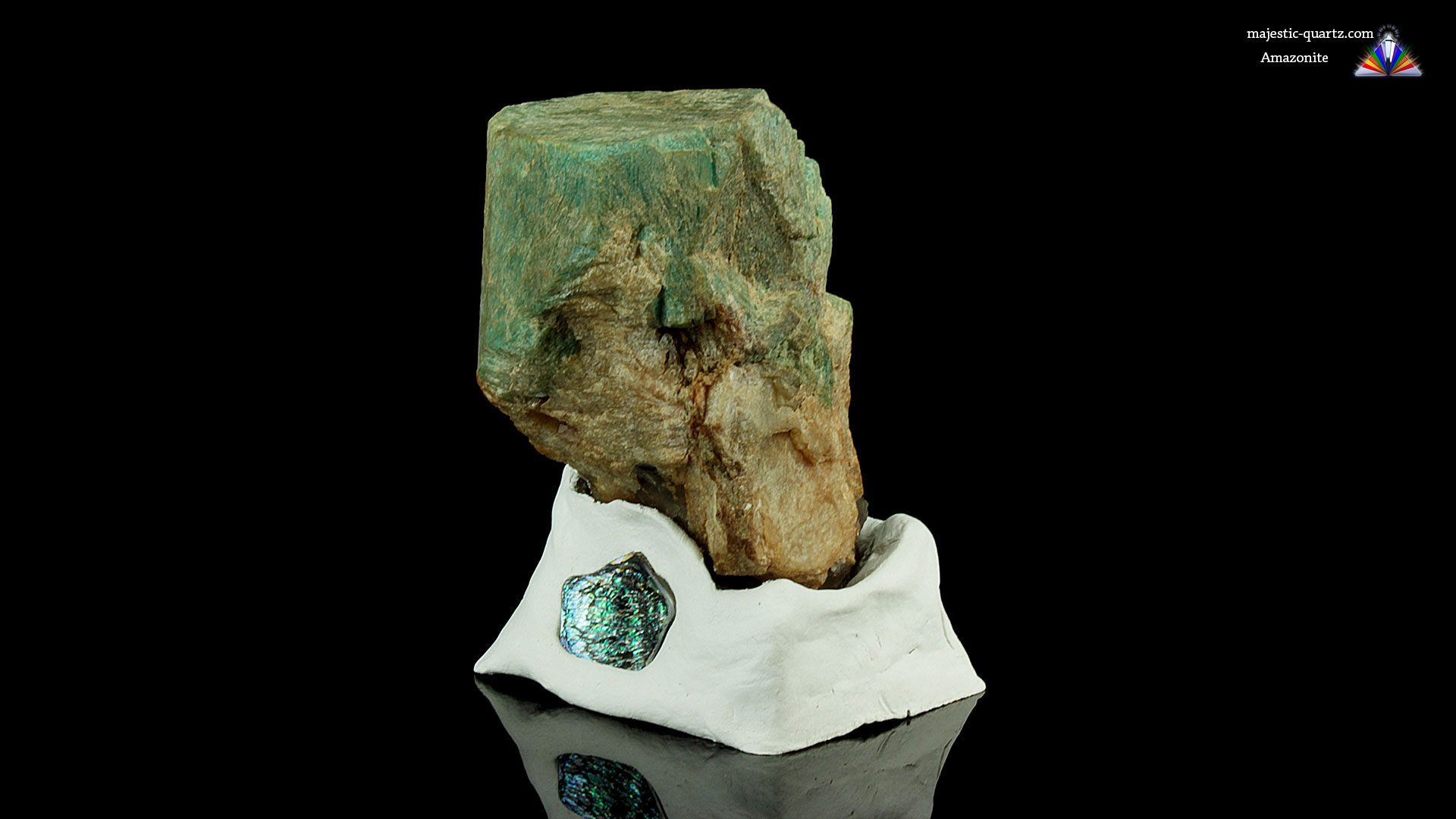 Terminated Amazonite Crystal Specimen - Mineral Specimen Properties and Meaning